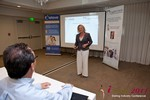Julie Ferman (CEO of Cupid 's Coach) at the iDate Dating Business Executive Summit and Trade Show
