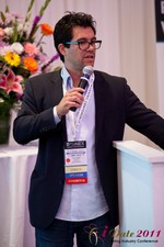 Tai Lopez (CEO of DatingHype.com) at the 2011 Online Dating Industry Conference in Los Angeles