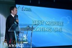 Mark Brooks - Announcing Best Mobile Dating Site Winner for 2012 at the 2012 iDate Awards