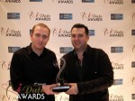 Honor Gunday & Benoit Boisset - PaymentWall won Best Payment System for 2012 in Miami Beach at the January 24, 2012 Internet Dating Industry Awards
