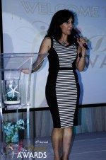 Comedienne Amy Tinoco at the 2011 Miami iDate Awards