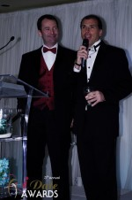 Mark Brooks and Marc Lesnick at the 2012 iDateAwards Ceremony in Miami held in Miami Beach