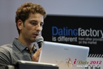 David Khalil (Co-Founder of eDarling) at the 2012 European Union Online Dating Industry Conference in Koln