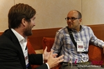 Networking  at the 2012 Koln European Union Mobile and Internet Dating Summit and Convention