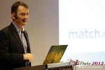 Mark Brooks (CEO of Courtland Brooks and Publisher of Online Personals Watch) at the September 10-11, 2012 Mobile and Internet Dating Industry Conference in Koln