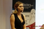 Oksana Reutova (Head of Affiliates at UpForIt Networks) at the 2012 European Union Online Dating Industry Conference in Koln