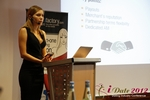Oksana Reutova (Head of Affiliates at UpForIt Networks) at the 9th Annual European Union iDate Mobile Dating Business Executive Convention and Trade Show