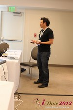 Andy Kim (CEO of Mingle)  at the 2012 Online and Mobile Dating Industry Conference in California