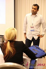 Dwipal Desai (CEO of TheIceBreak.com) covers monetization during a relationship at the 2012 Online and Mobile Dating Industry Conference in California