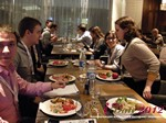 Lunch at the 2012  Eastern European Mobile and Internet Dating Summit and Convention in Moscow