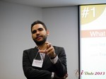 Marco Tulio Kehdi COO of Raccoon Marketing Digital speaking on Brazil Search  at iDate2013 South America