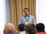 Alistair Shrimpton (European Director of Development @ Meetic) at iDate2013 Koln