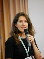 Tanya Fathers (CEO of Dating Factory) at the 2013 European Union Internet Dating Industry Conference in Koln