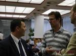 Henning Weichers & Maciej Koper at iDate2013 Europe