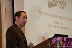 Mike Gregory (CEO of Wooyah) at the CEO Therapy session at the 33rd International Dating Industry Convention