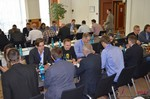 Speed Networking among Dating Industry Executives  at the 2014 European Union Online Dating Industry Conference in Germany