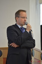 Dieter Plassman, CTO at Net-M  at the 39th iDate2014 Germany convention