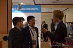 Exhibit Hall, Neteller Sponsor  at the 2014 Euro Online Dating Industry Conference in Germany