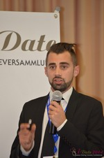 Matthew Banas, CEO of NetDatingAssistant  at the 11th Annual Euro iDate Mobile Dating Business Executive Convention and Trade Show