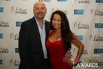 Sean Kelley & Carmelia Ray  in Las Vegas at the January 15, 2014 Internet Dating Industry Awards