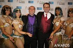 Marc Lesnick & Mark Brooks (iDate Awards Thanks You!) at the 2014 iDateAwards Ceremony in Las Vegas