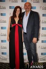 Tatyana Seredyuk & Sean Kelley  at the 2014 iDate Awards Ceremony