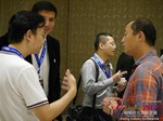 Business Networking  among C-Level Dating Industry Executives at the 2015 China Internet Dating Industry Conference in China