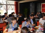 Lunch at the 2015 Beijing Asia Mobile and Internet Dating Expo and Convention