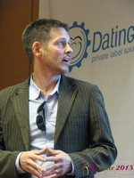 Justin Parfitt - CEO of HeyLets at the January 20-22, 2015 Las Vegas Online Dating Industry Super Conference