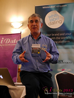 Dave Wiseman Vice President Of Sales And Marketing Speaking To The European Dating Market On Scam Detection Technology at the 42nd iDate2015 London convention
