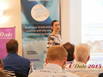 Gloria Diez Business Development From Wamba Speaking at the 2015 London European Union Mobile and Internet Dating Expo and Convention