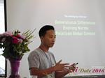 Monty Suwannukul (Product designer at Grindr)  at the 2016 Los Angeles Mobile Dating Summit and Convention