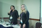 Genevieve Zawada and Arlene Vasquez reporting on the 2016 State of Matchmaking in Europe and the U.K.  at the September 26-28, 2016 Mobile and Internet Dating Industry Conference in Londres