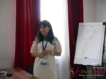 Elena Vygnanyuk at the July 19-21, 2017 Minsk Premium International Dating Business Conference