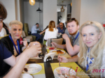 Lunch at the July 19-21, 2017 Minsk Premium International Dating Business Conference